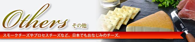 その他 スモークチーズやプロセスチーズなど、日本でもおなじみのチーズ。