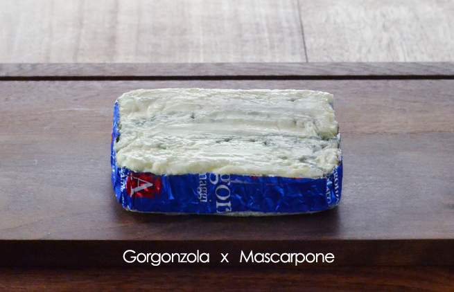 ゴルゴンゾーラ・マスカルポーネ2