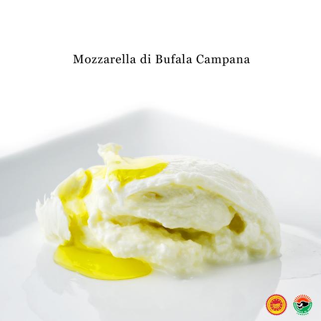 モッツァレラディブッファラカンパーナDOP9