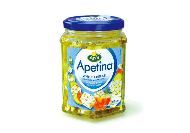 アペティナホワイトチーズオイル漬け