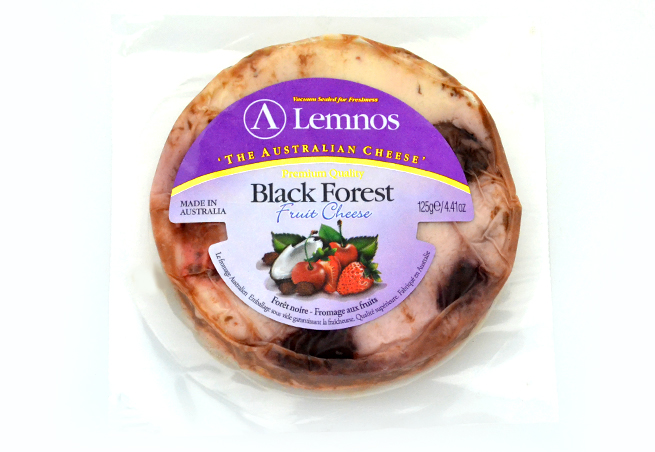 クリームチーズブラックフォレスト