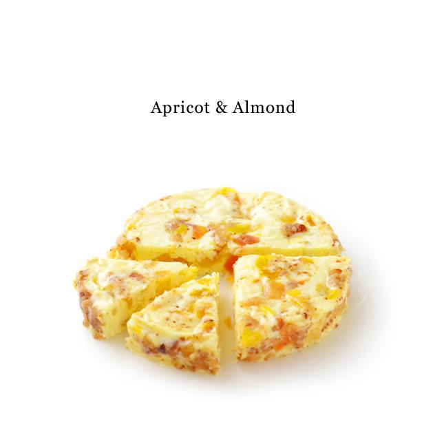 クリームチーズアプリコット&アーモンド1