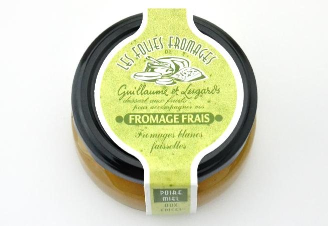 チーズマニア洋梨コンフィチュール1