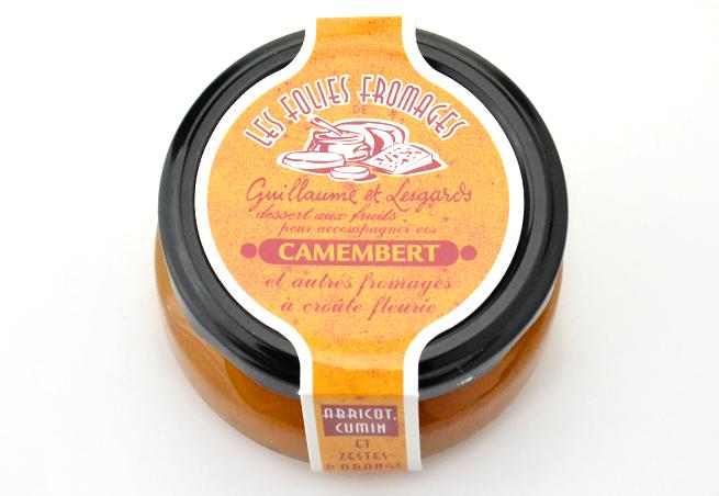 チーズマニアアプリコットコンフィチュール1