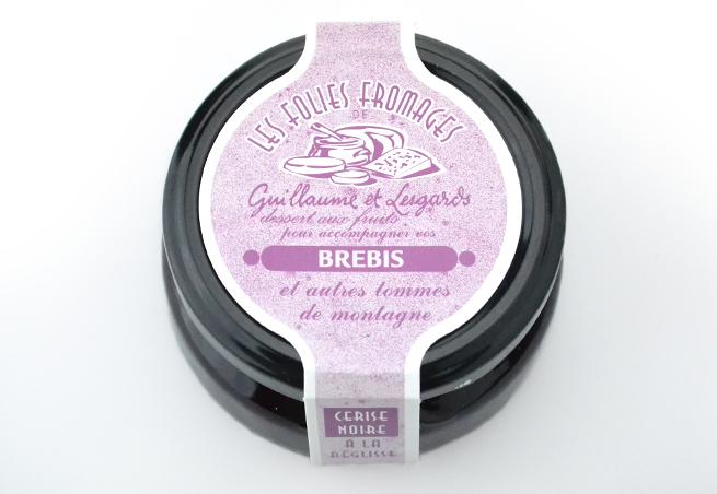 チーズマニアブラックチェリーコンフィチュール1