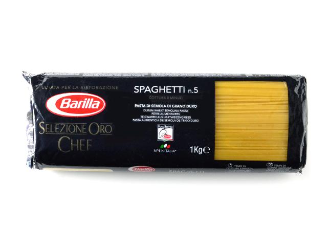 バリラ セレシオネ・オロ・シェフNo5 スパゲッティ 1.7mm 1kg【正規輸入品】