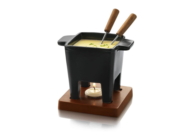 BOSKA チーズフォンデュセット 2人用 ブラック