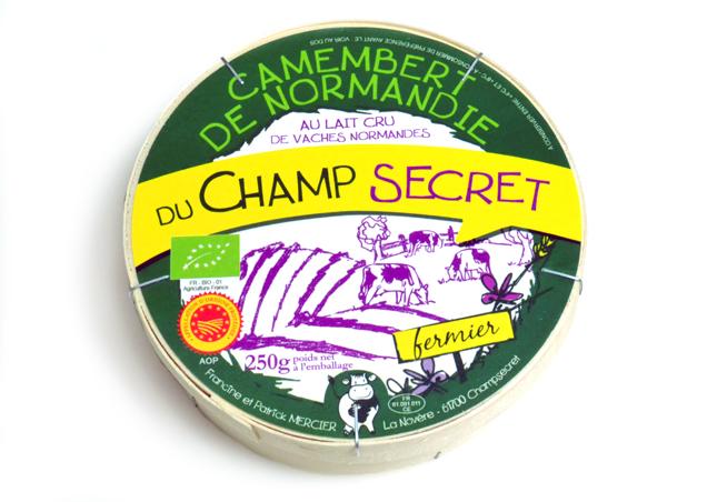 カマンベール・ド・ノルマンディAOP 農家製 オーガニック